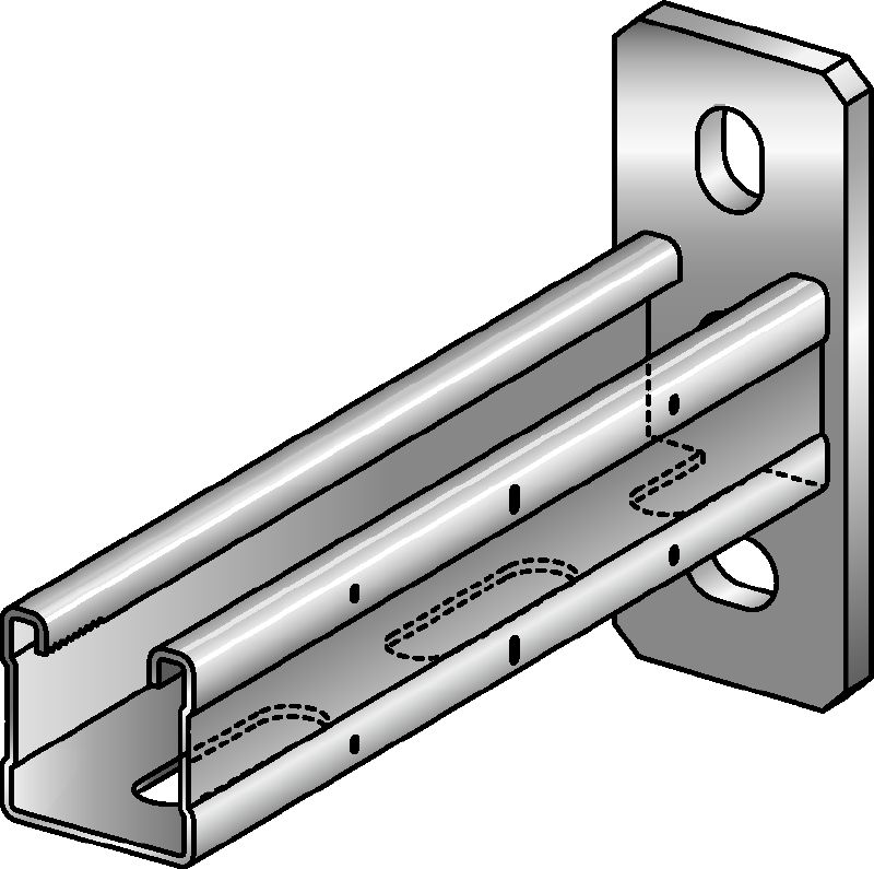 MQK-41-F Hot-dip galvanized bracket